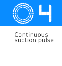 continuous suction pulse