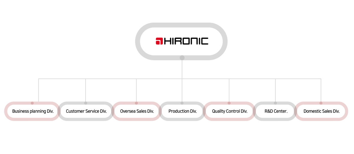hironic organization