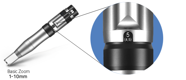 Various Handpieces specifications